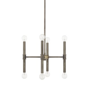 Union Rustic Deller 8-Light Sputnik Chandelier
