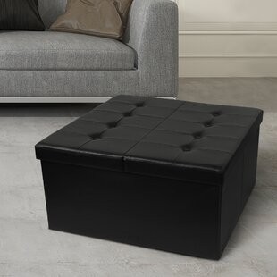 Tondola Button Folding Storage Ottoman
