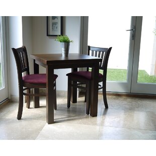 Celia Dining Set With 2 Chairs (Set Of 3) By Ophelia & Co.