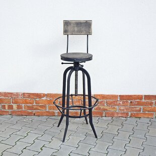 Review Casey Height Adjustable Bar Stool