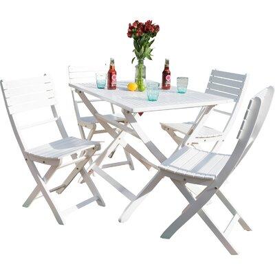 Enola 5 Piece Dining Set by Zipcode Design #1