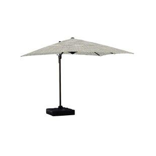 Jarod Lava 1' Square Cantilever Sunbrella Umbrella by Longshore Tides