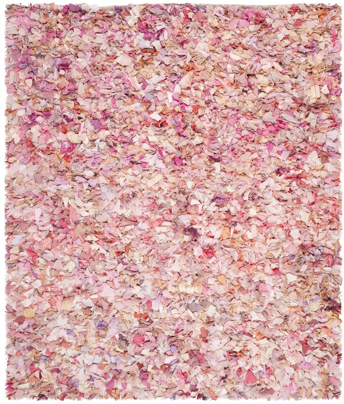 rugs floor aran on rose of buy to rug thick colour pale pink land style a floors