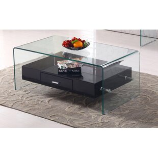 Reviews Glass Top Coffee Table by Best Quality Furniture
