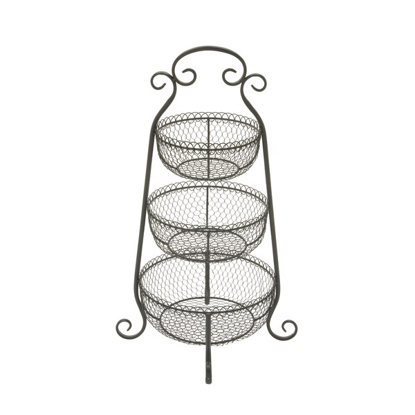 3 Tier Basket Wayfair
