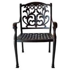 Pyxis Stacking Patio Dining Chair by One Allium Way Wonderful