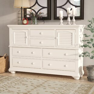 Morpeth 6 Drawer Combo Dresser