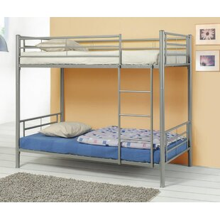 Birchwood Twin Over Twin Bunk Bed by Harriet Bee Today Sale Only