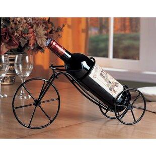 Keels Bicycle Tabletop Wine Bottle Rack (..