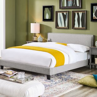 Dunkelberger Queen Upholstered Panel Bed by Winston Porter