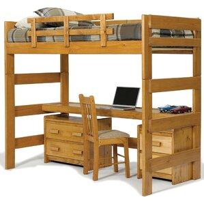 twin loft bed customizable bedroom set - Loft Twin Bed Frame