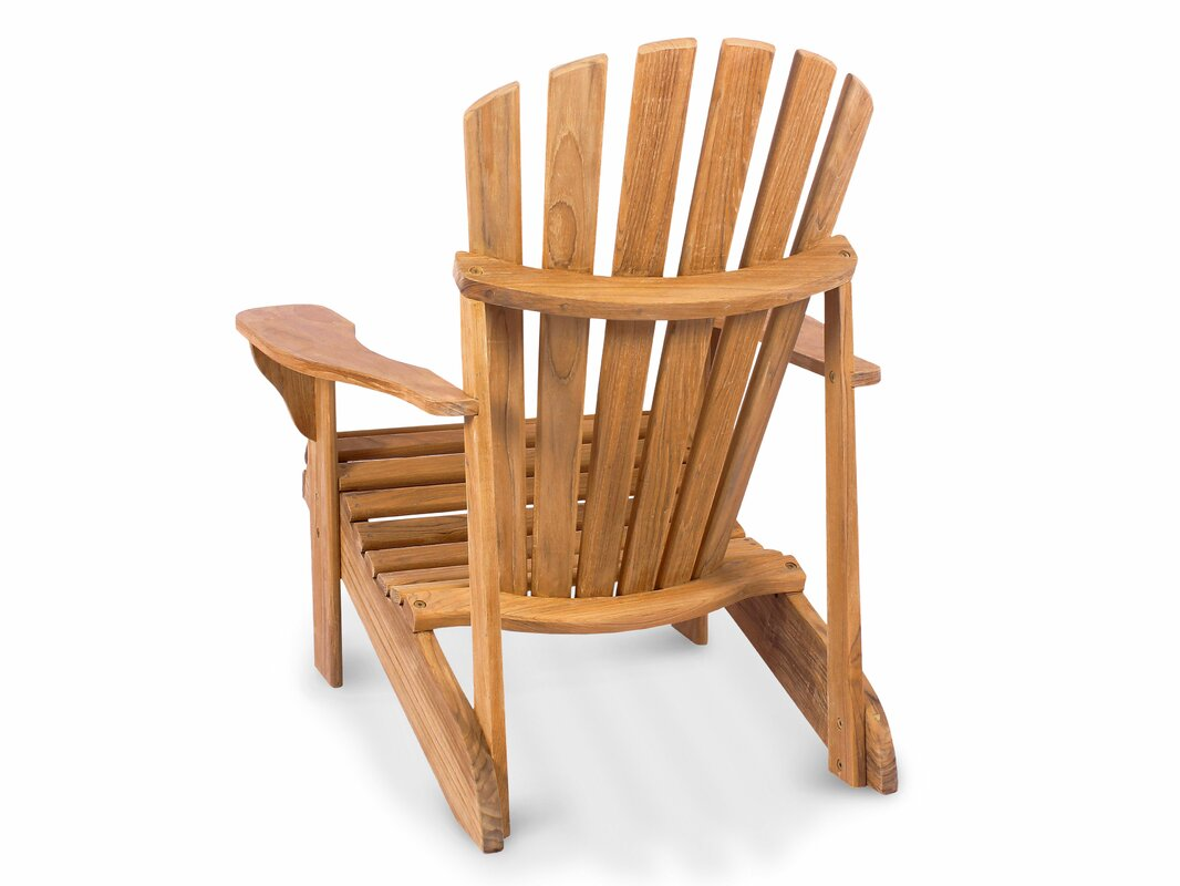 Superior Montauk Solid Wood Adirondack Chair