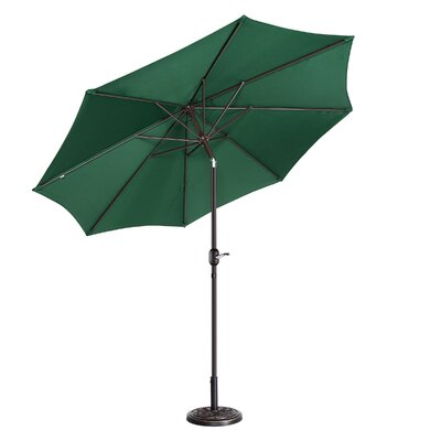 Coalville Manual Tilt  Market Umbrella by Freeport Park Wonderful