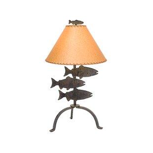 Fish lamps wayfair fish 26 table lamp aloadofball Images