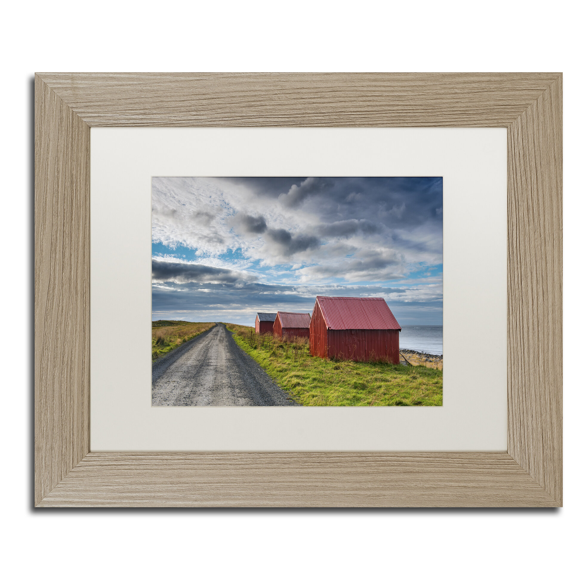 Trademark Art Three In A Row By Michael Blanchette Framed Photographic Print Wayfair