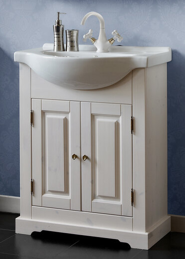 Bathroom Solid Pine 650mm