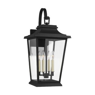 Old Down 4-Light Outdoor Wall Lantern by ..
