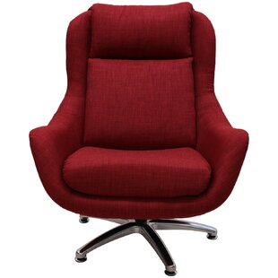 Latitude Run Linda Swivel Lounge Chair