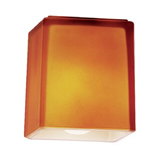 Replacement pendant shades wayfair 3 glass rectangular pendant shade aloadofball Gallery