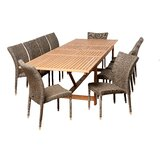 Farview International Home Outdoor 11 Piece Dining Set