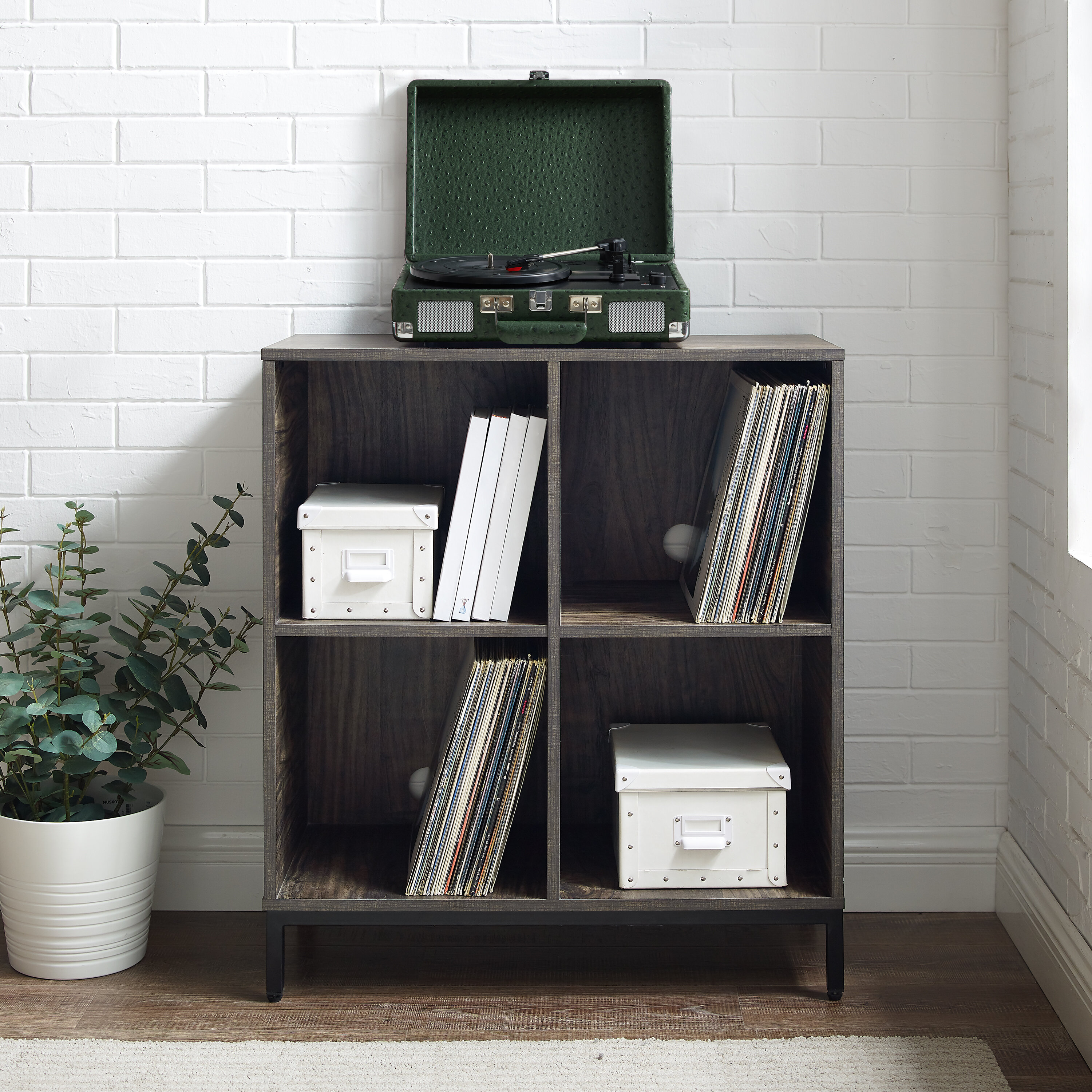 17 Stories Whitted 33 H X 28 5 W Cube Bookcase Wayfair