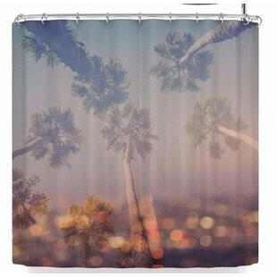Ann Barnes Postcard From L.A. Single Shower Curtain