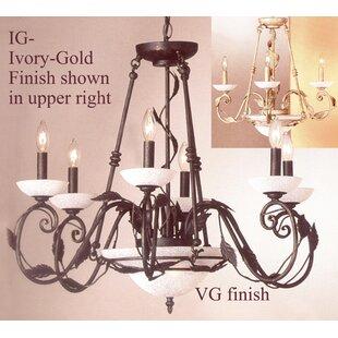 Classic Lighting Capri 8-Light Chandelier