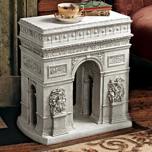 Arc De Triomphe Sculptural End Table