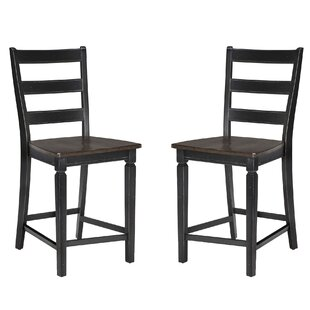 Gracie Oaks Marchan Bar Stool (Set of 2)