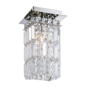 Cordova 1-Light Semi Flush Mount by Rosdorf Park