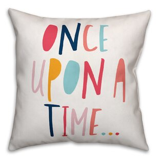 Zander Once Upon a Time Throw Pillow