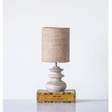 Josephs Bleached Mango Wood 15.5 Table Lamp