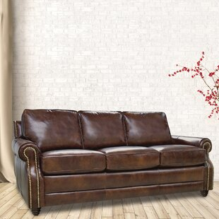 Halligan Leather Sofa by A..