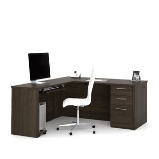 Great Price Karyn L-Shape Executive Desk ByLatitude Run