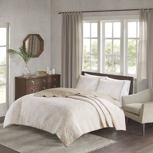 Sorrento 3 Piece Reversible Coverlet Set