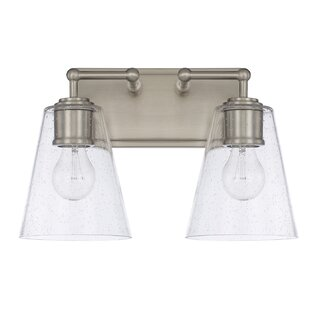 Look for Gallego Contemporary 2-Light Vanity Light By Three Posts