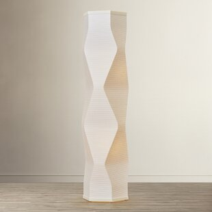 Latitude Run Chevington Column Floor Lamp