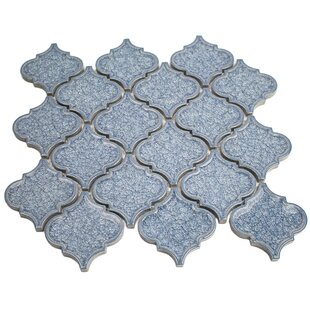 Roman Selection Glass Mosaic Tile in Iced Blue
