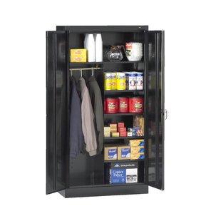 Standard 72H x 36W x 18D 2 Door Storage Cabinet by Tennsco Corp.