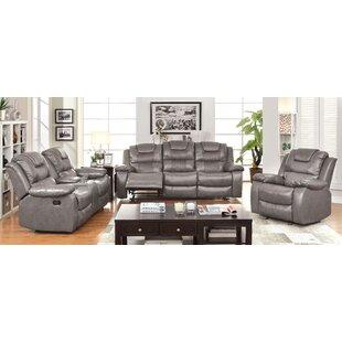 Hokku Designs Harrison Reclining Configurable Living Room Set