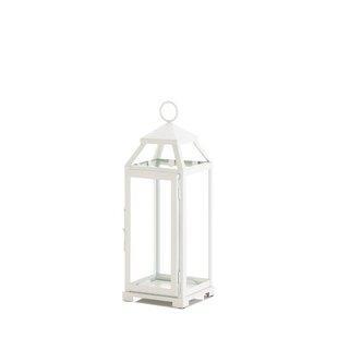 Glass/Metal Lantern by Gracie Oaks