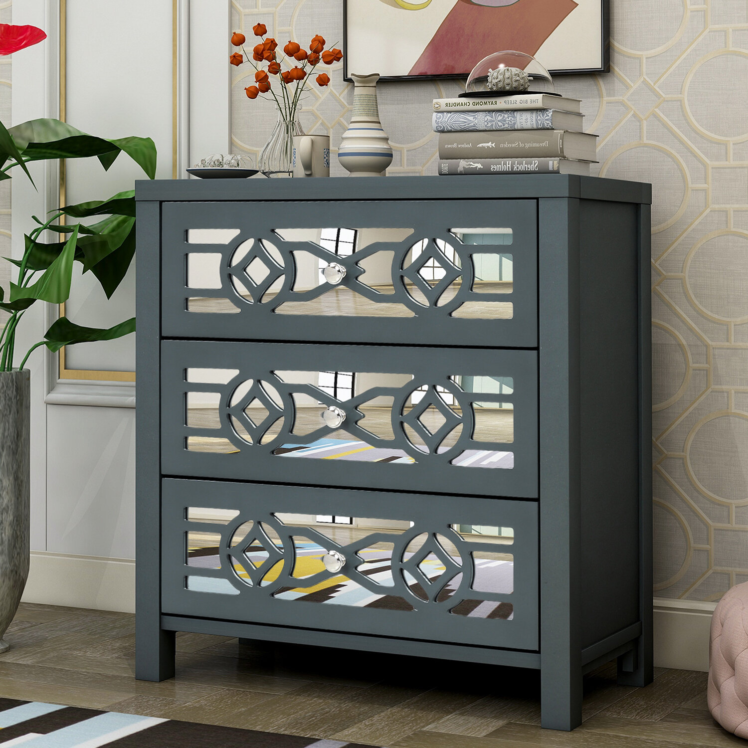 Cadfan 20   Drawer Accent Chest