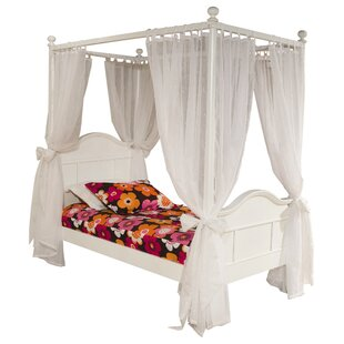 Compare prices Lilia Four Poster Bed by Viv + Rae Reviews (2019) & Buyer's Guide