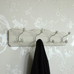 Evelina Wall Mounted Coat Rack By Lily Manor