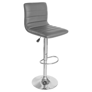 Review 83cm Height Adjustable Swivel Bar Stool