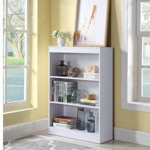 Holcombe Transitional Wooden Standard Bookcase by Winston Porter Discount