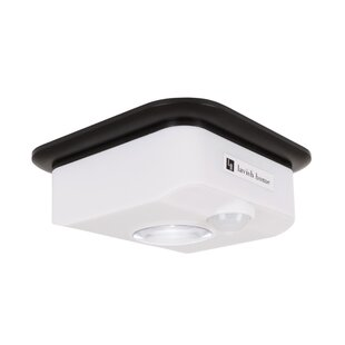Motion Sensor 1 Light LED Flush Mount