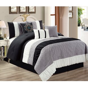 Kastner 7 Pieces Reversible Comforter set