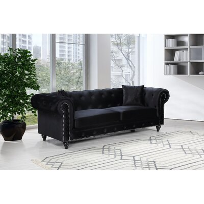 Black Chesterfield Sofas You Ll Love In 2019 Wayfair