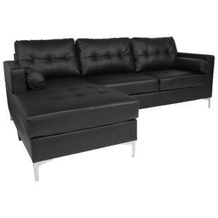 Covedale Upholstered Tufted Back Sectional